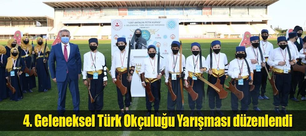 4. Geleneksel Türk Okçuluğu Yarışması düzenlendi