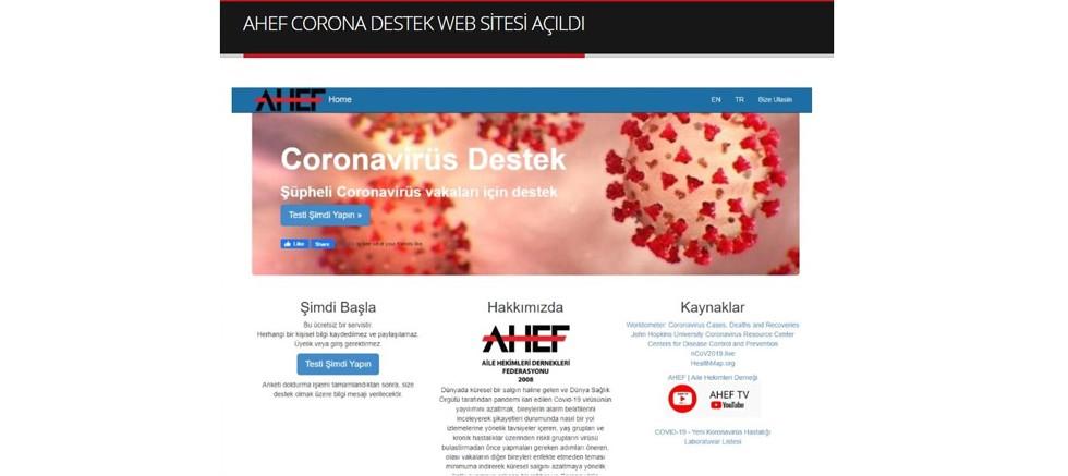 AHEF web sitesine 2 günde 180 bin kişi başvurdu