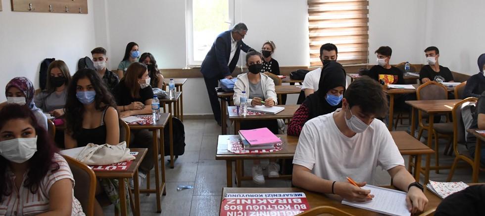 Ahmet Erkal Destek Eğitim Kurs Merkezi'nde eğitim başladı