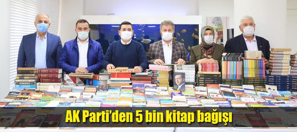 AK Parti'den 5 bin kitap bağışı