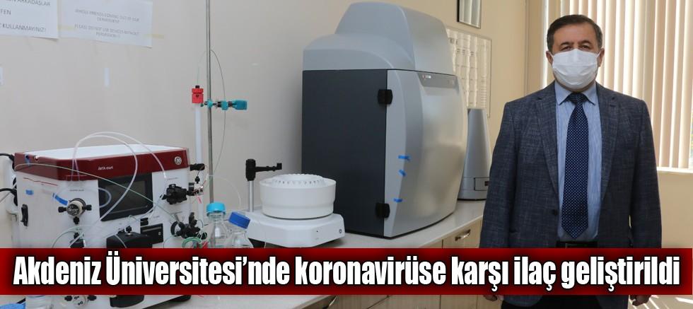 Akdeniz Üniversitesi'nde koronavirüse karşı ilaç geliştirildi