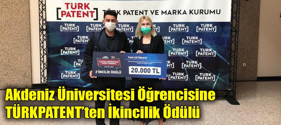 Akdeniz Üniversitesi öğrencisinden büyük başarı
