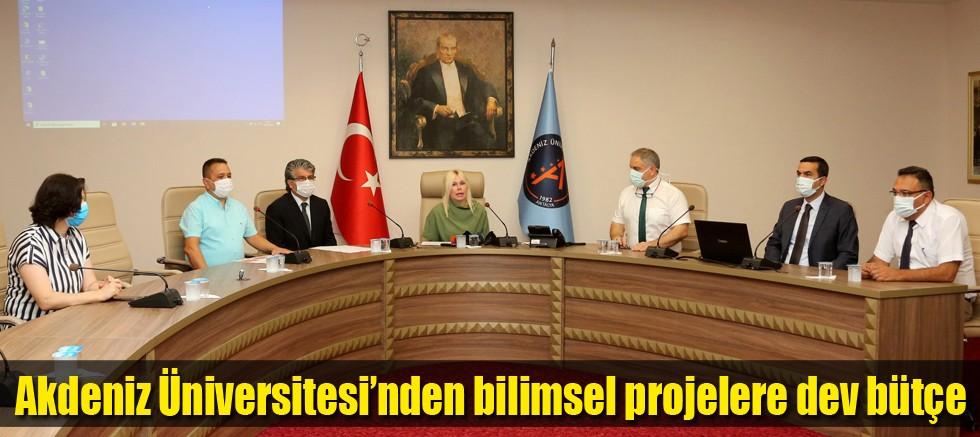 Akdeniz Üniversitesinden bilimsel projelere dev bütçe