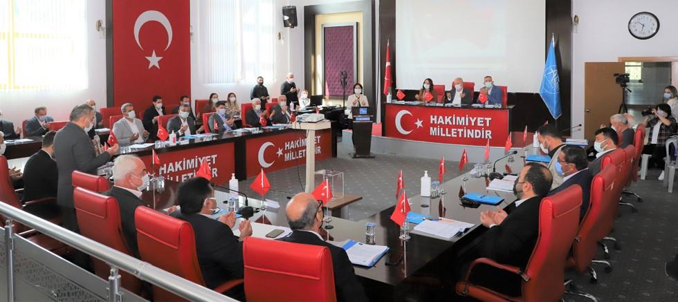 Aksu'da Komisyon seçimleri yapıldı