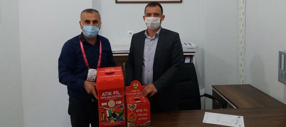 Alanya Belediyesi atık pil toplama kampanyası devam ediyor