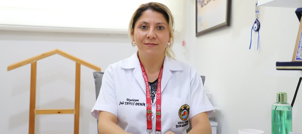 Alanya Belediyesi Diyetisyeni Şule Demir'den Kurban Bayramı'nda beslenme önerisi