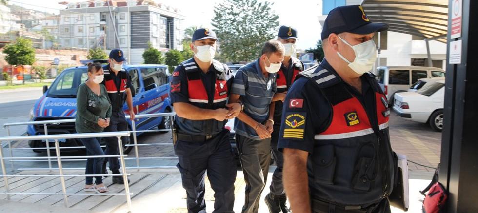 Alanya'da uyuşturucu operasyonu: 2 kişi gözaltında