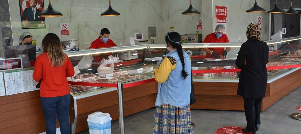 Alanya Halk Et Satış Mağazası'nda 1 yılda 63 bin kg et ürünü satıldı