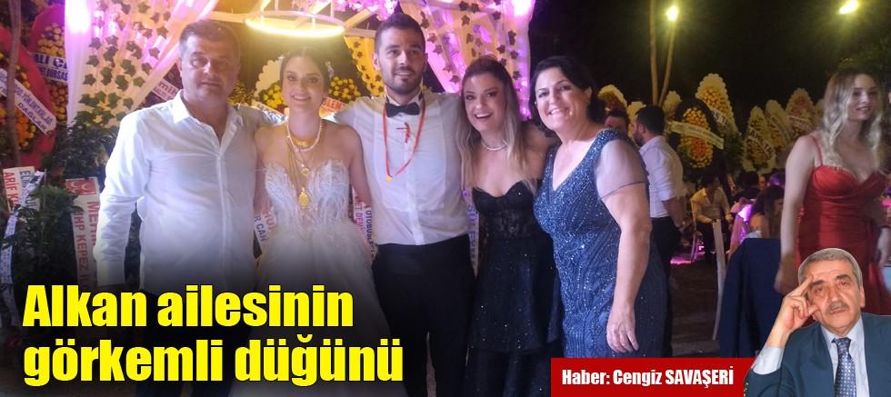 Alkan ailesinin görkemli düğünü
