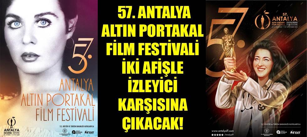Altın Portakal Film Festivali iki afişle izleyici karşısına çıkıyor