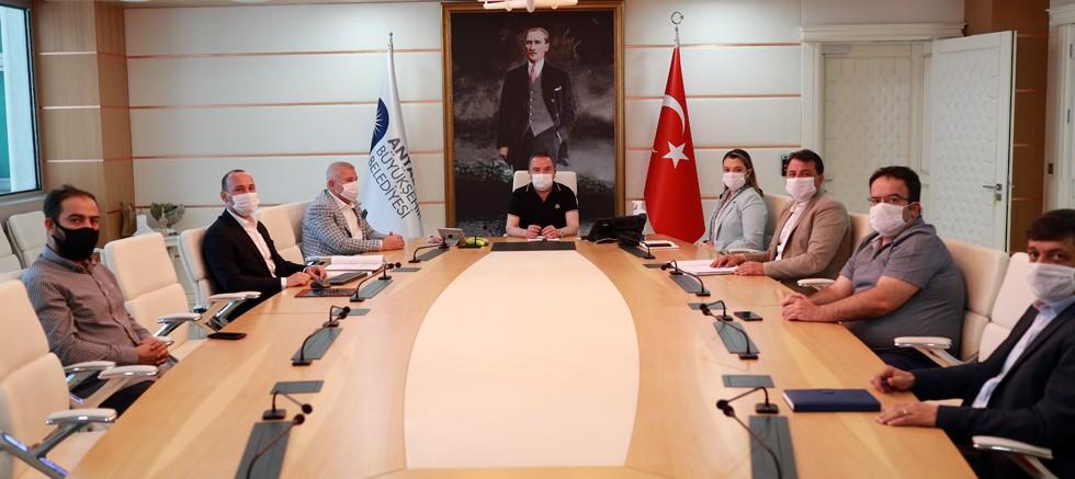 ALTSO Başkanı Şahin'den Başkan Böcek'e ziyaret