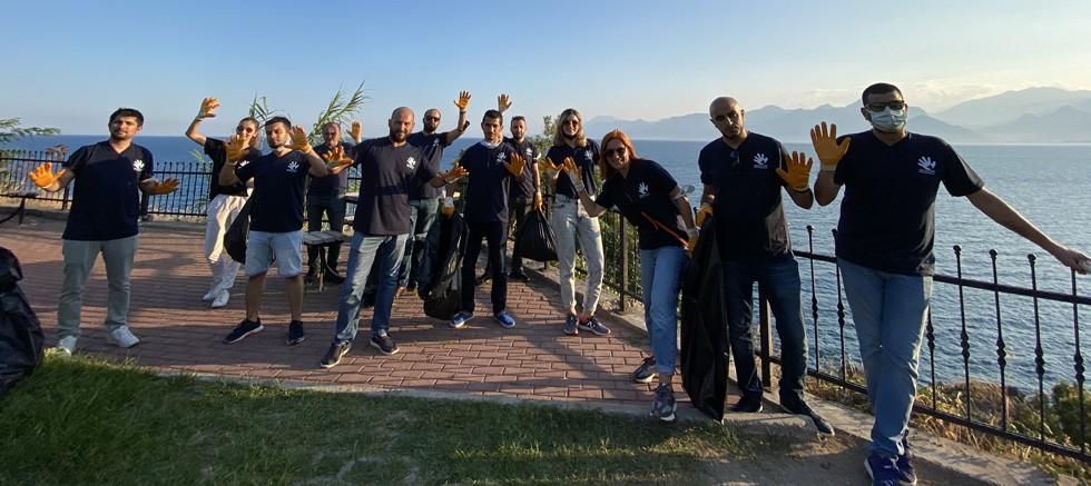 Anadolu Efes Gönüllüleri'nden Antalya'da Çevreye +1