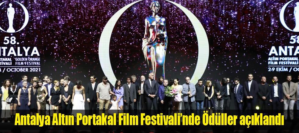 Antalya Altın Portakal Film Festivali'nde Ödüller açıklandı