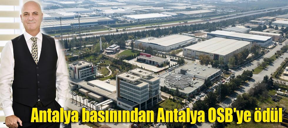 Antalya basınından Antalya OSB'ye ödül