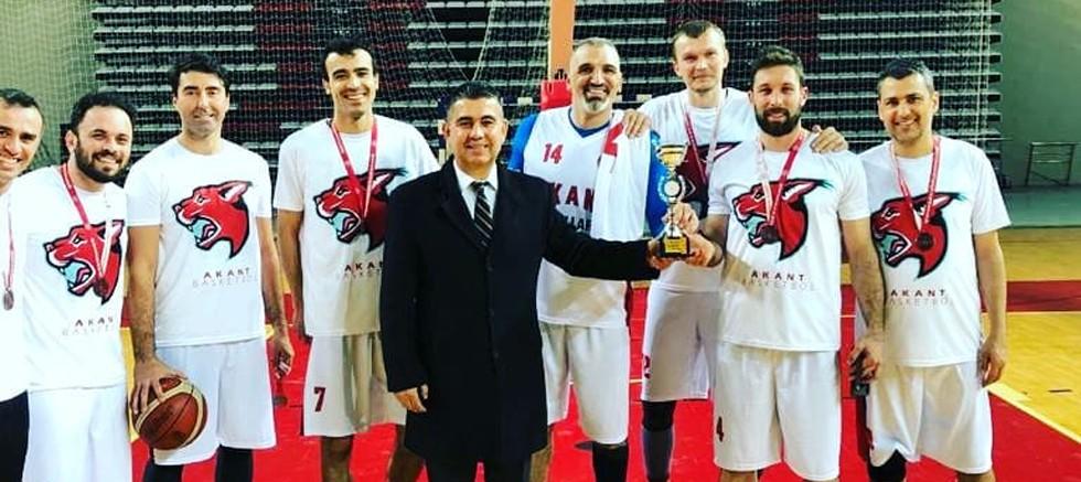 Antalya Basketbol Büyük Erkekler Liginde Şampiyon Belli Oldu