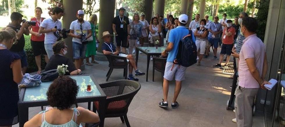 Antalya'da Alınan Önlemler Alman Turizm Profesyonellerine anlatıldı