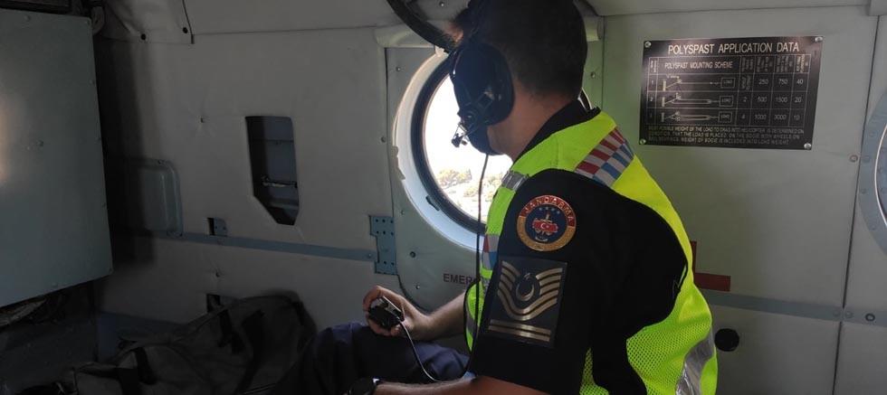 Antalya'da havadan ve karadan trafik denetimi yapıldı