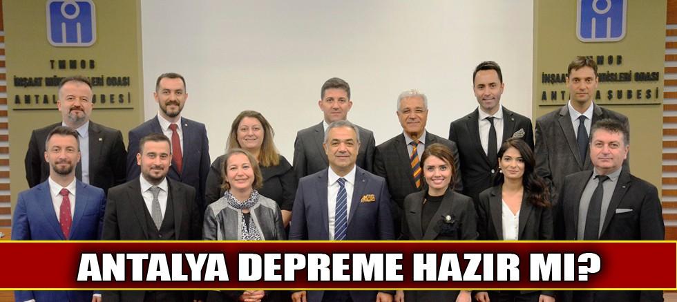 Antalya depreme hazır mı?
