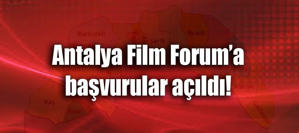 Antalya Film Forum'a başvurular açıldı!
