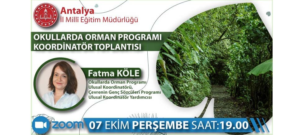 Antalya İl Milli Eğitim Müdürlüğü ve TÜRÇEV'den Çevre Dostu Proje