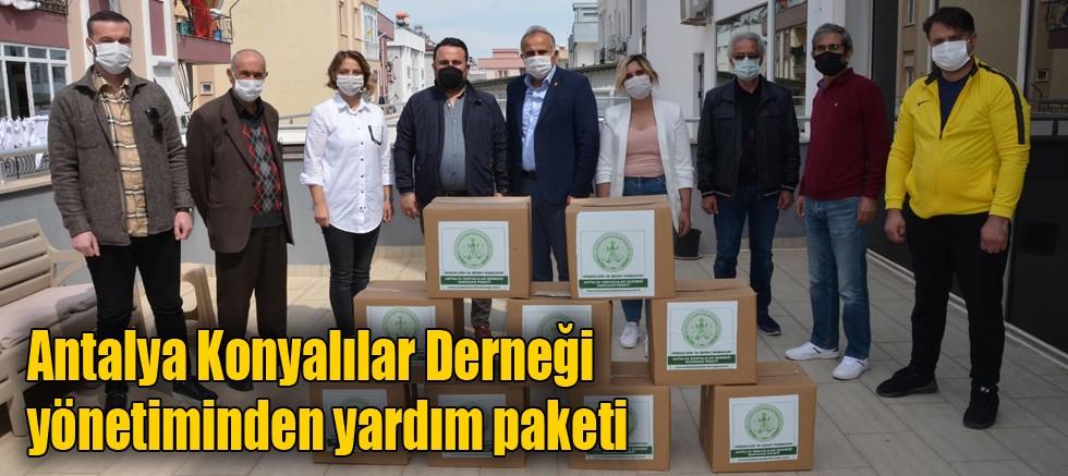 Antalya Konyalılar Derneği, 500 aileyi sevindirdi