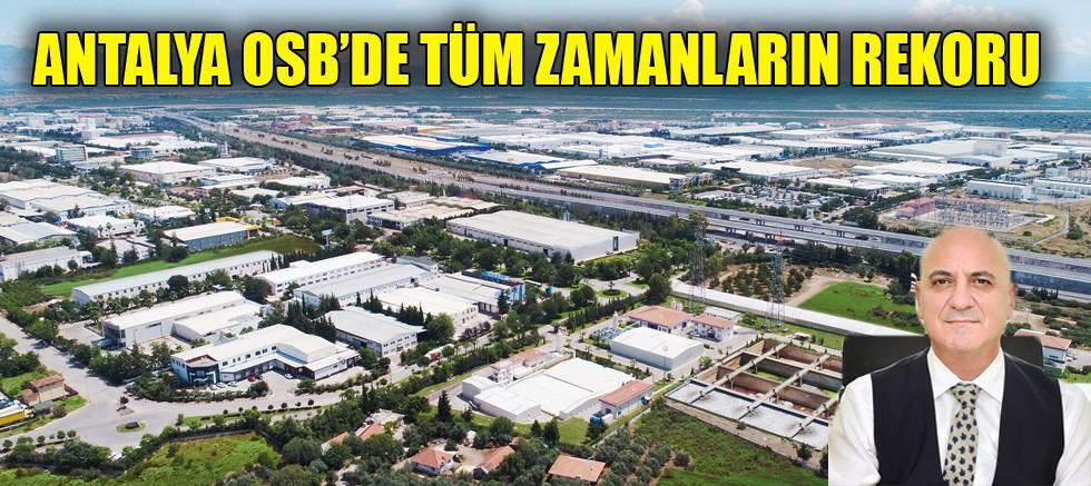 Antalya sanayicisi pandemiye rağmen durmadı, üretti