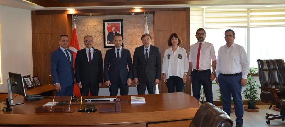 Antalya SMMM Odası'ndan Antalya Vergi Denetim Kurulu'na ziyaret
