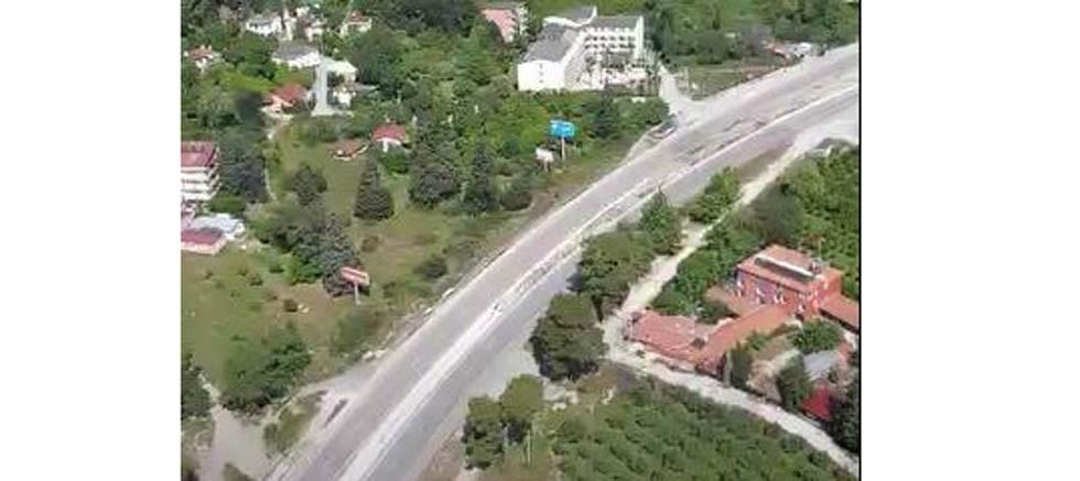 Antalya trafiği helikopter ve drone ile denetlendi