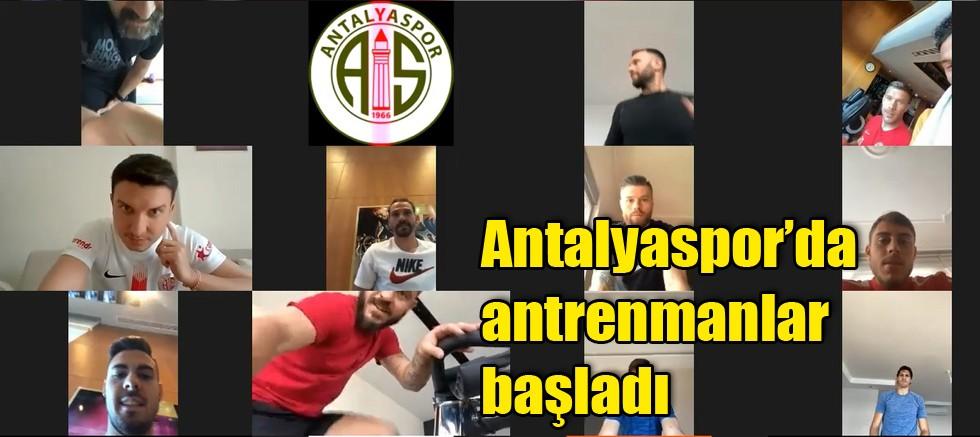 Antalyaspor'da antrenmanlar başladı