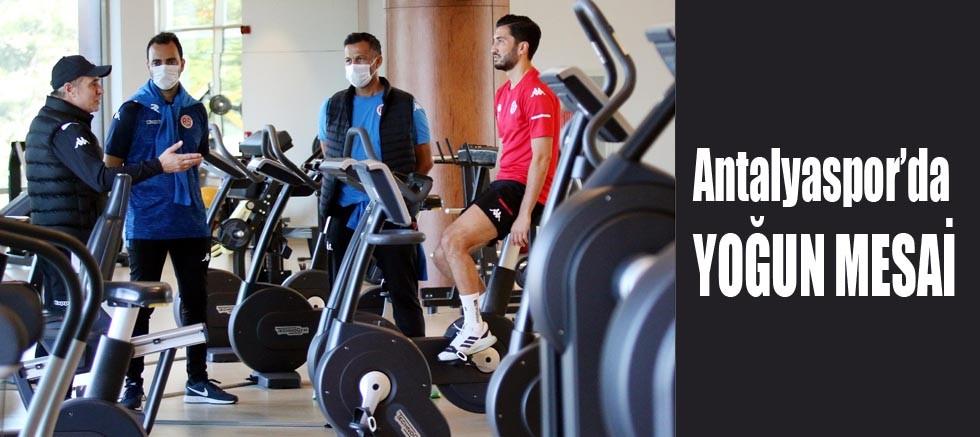Antalyaspor'da yoğun mesai