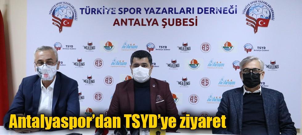 Antalyaspor'dan TSYD'ye ziyaret