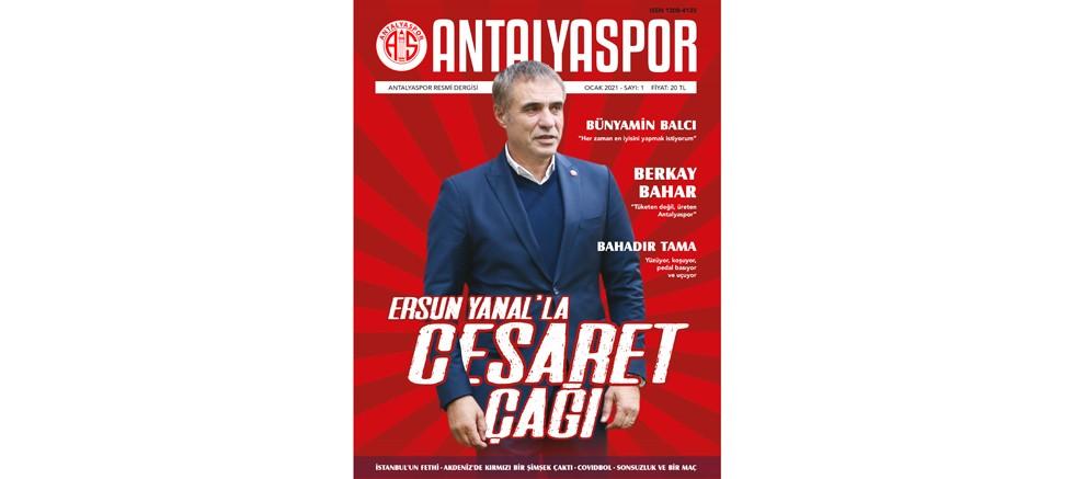 Antalyaspor Dergisi yayın hayatına başladı