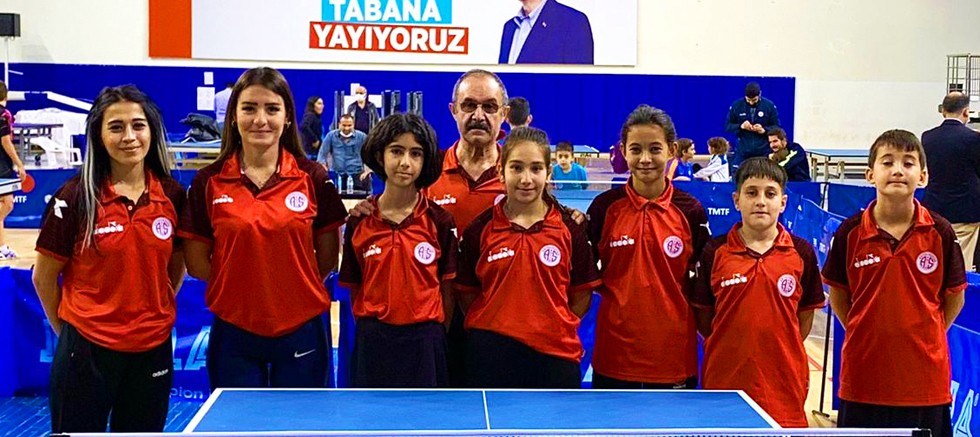 Antalyaspor Masa Tenisi Takımı seçmelere katıldı