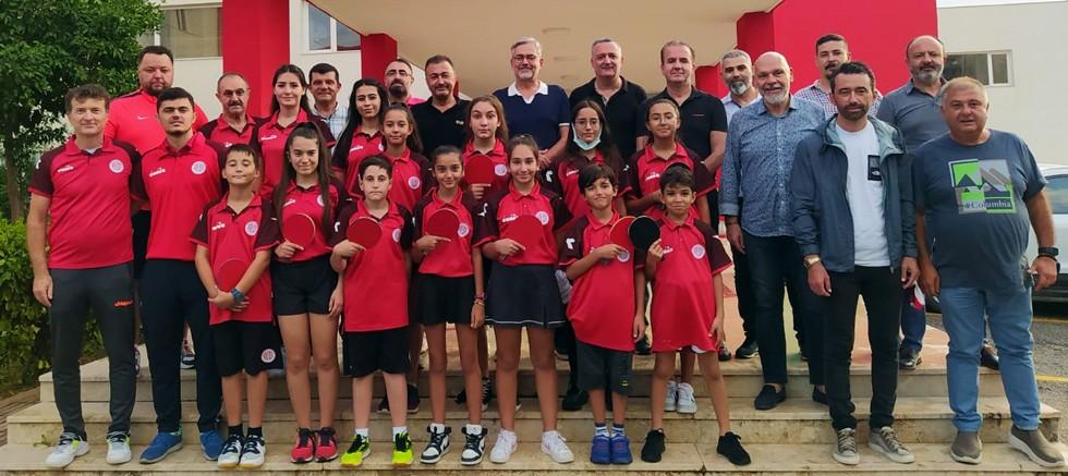 Antalyaspor Masa Tenisi Takımından Antalyaspor Kulübü Derneği'ne Ziyaret