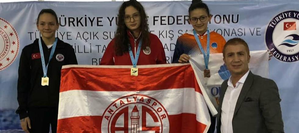 Antalyasporlu 18 yüzücü milli takımda