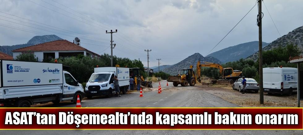 ASAT'tan Döşemealtı'nda kapsamlı bakım onarım
