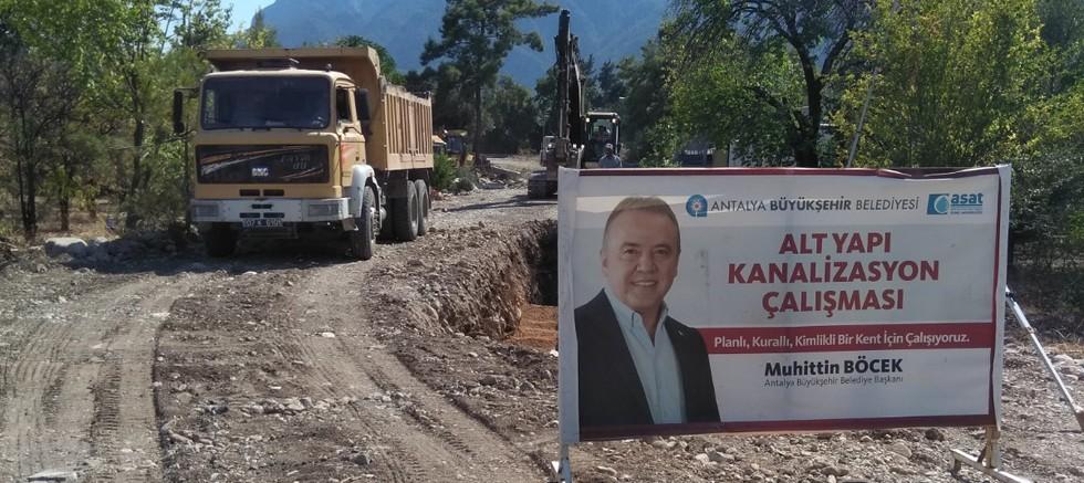 ASAT'tan Göynük'e yeni kanalizasyon