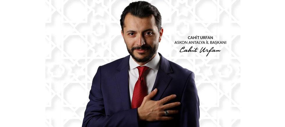 ASKON Antalya Şube Başkanı Urfan'dan bayram mesajı