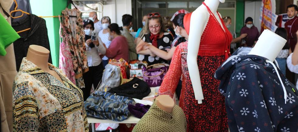 ATASEM kursiyerleri el emeği ürünlerini sergiledi
