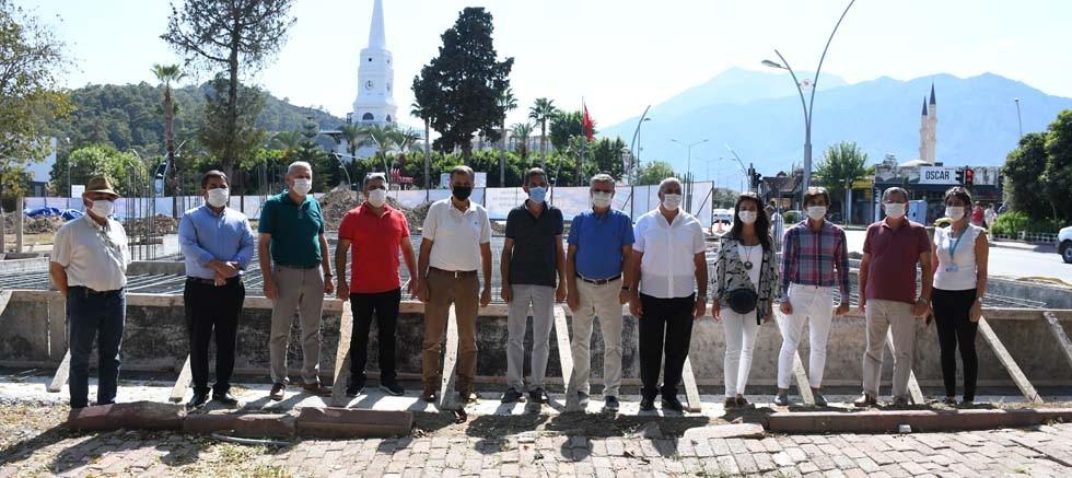 Atatürk Parkı Projesi'nde temel atma töreni yapıldı