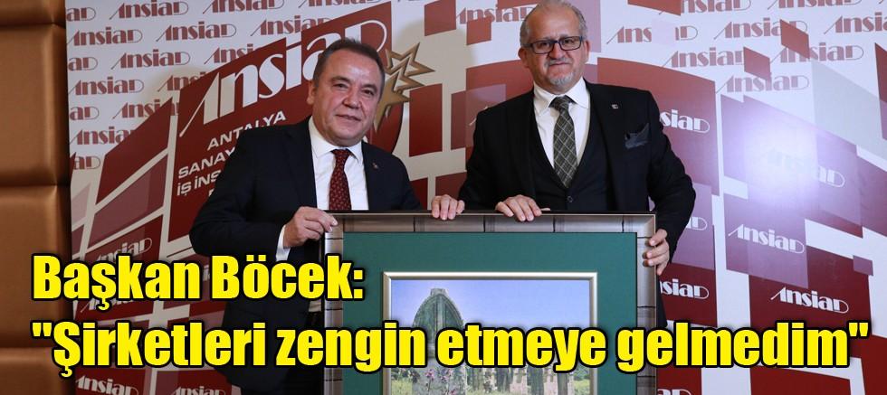 Başkan Böcek:
