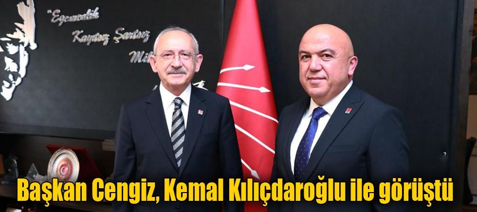 Başkan Cengiz Kılıçdaroğlu ile görüştü