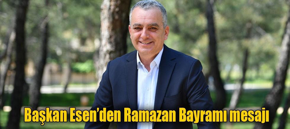 Başkan Esen'den Ramazan Bayramı mesajı