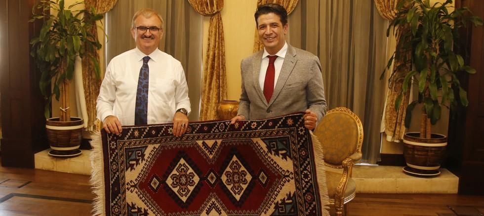 Başkan Genç'ten Vali Karaloğlu'na ziyaret