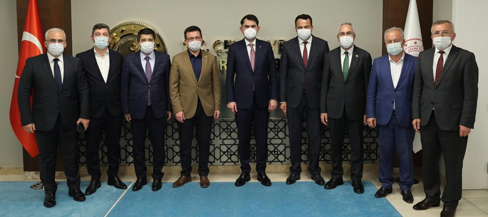 Başkan Şahin Ankara'dan güzel haberlerle döndü