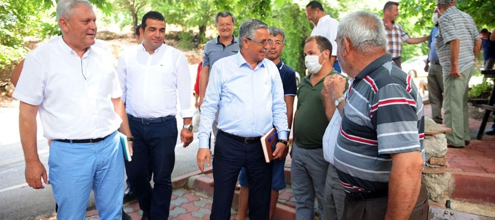 Başkan Topaloğlu Beycik halkı ile biraraya geldi