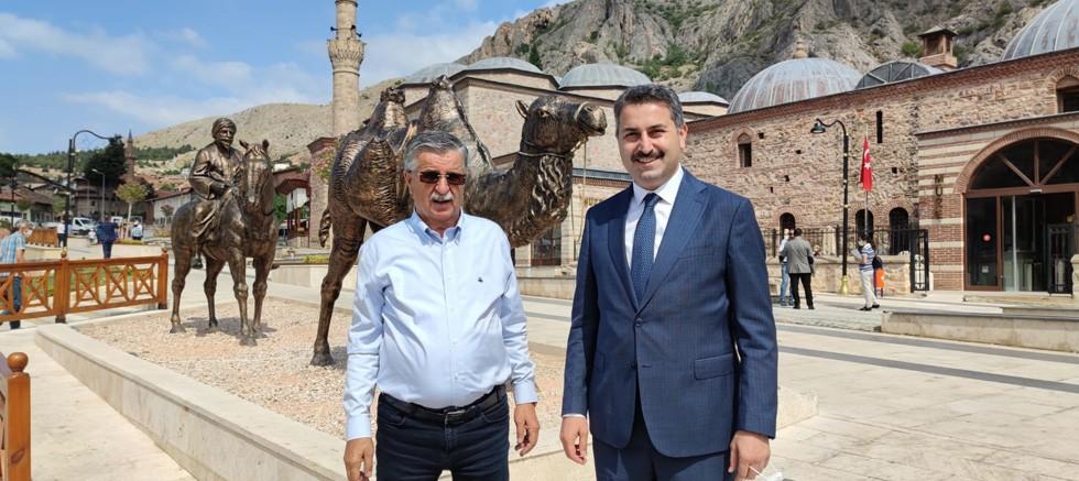 Başkan Topaloğlu Tokat'ta
