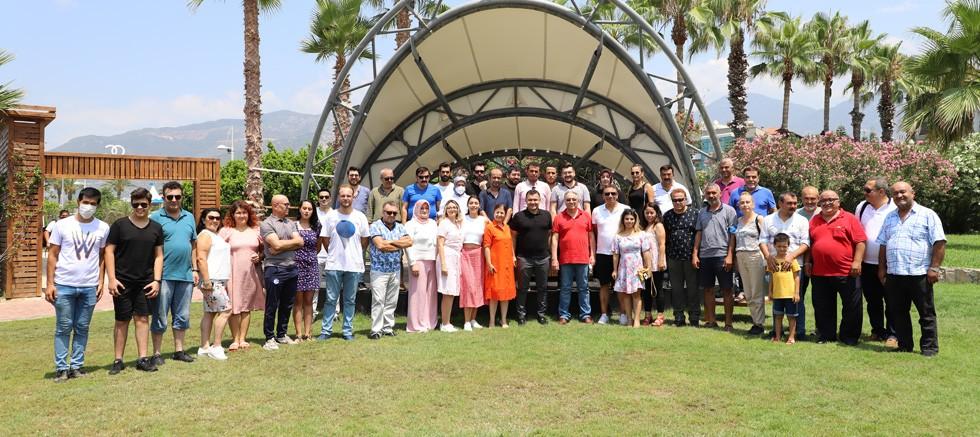 Başkan Yücel 24 Temmuz Basın Bayramı'nda Alanya basını ile biraraya geldi