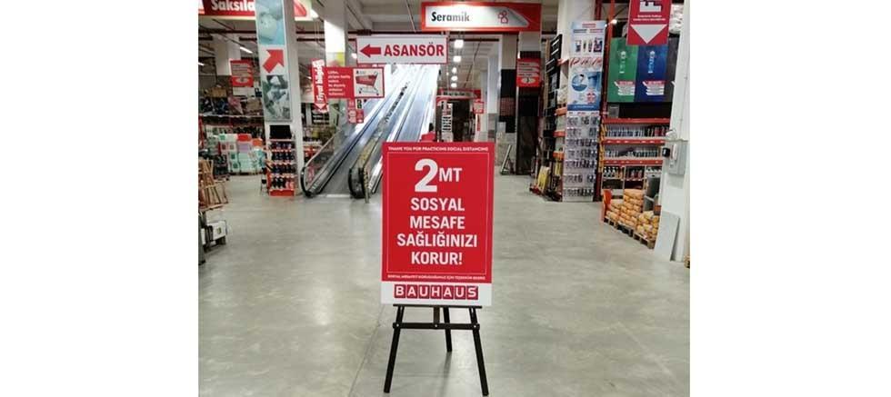 Bauhaus Türkiye tüm mağazalarını tekrar açıyor
