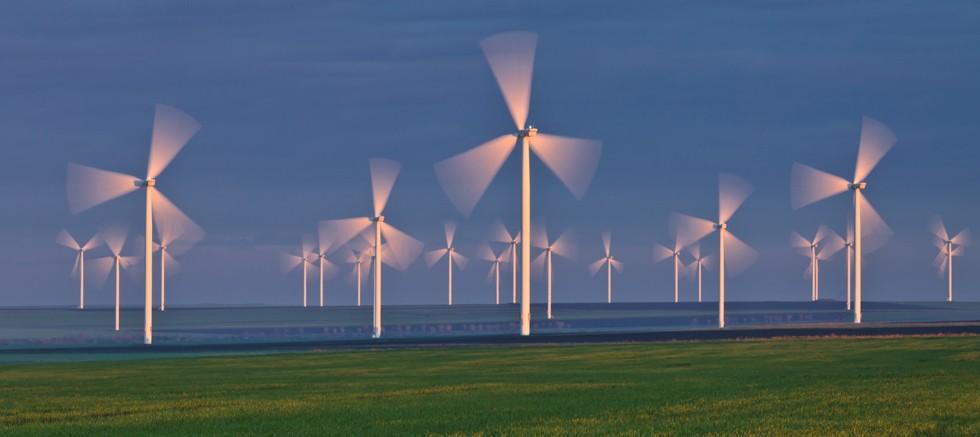 Binlerce haneye elektrik sağlayan türbinlerdeki duruş süresi erişim platformlarıyla en aza indirgeniyor